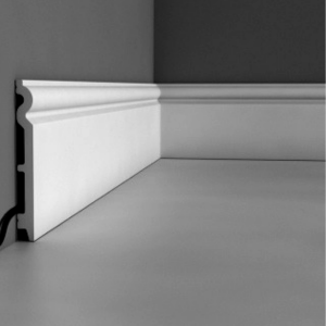 Baltos 14 cm grindjuostės iš polistireno